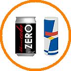 缶ジュース、エナジードリンク
