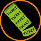 チケット、回数券