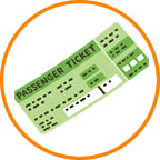 航空券、新幹線チケット
